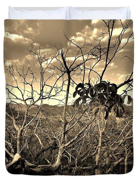 Mandakaru Duvet Cover by Beto Machado
