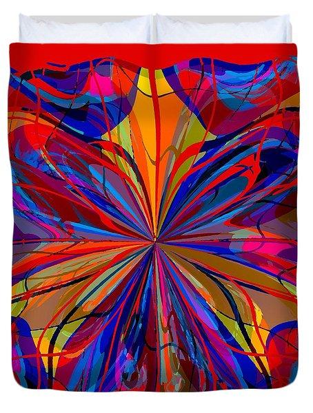 Mandala #4 Duvet Cover