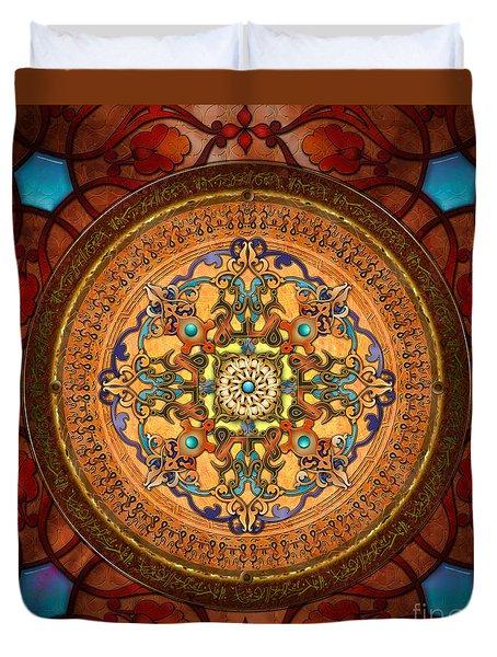 Mandala Arabia Duvet Cover