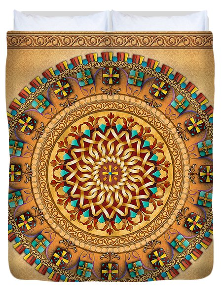 Mandala Armenia 'iyp' V2 Sp Duvet Cover