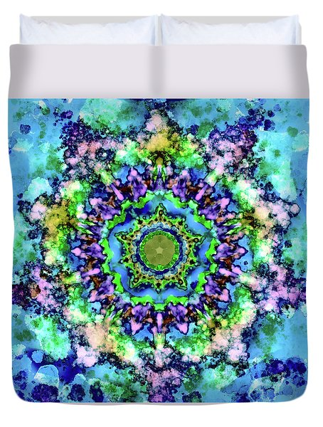 Mandala Art 1 Duvet Cover