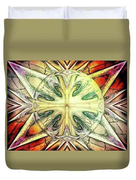 Mandala Duvet Cover by Beto Machado