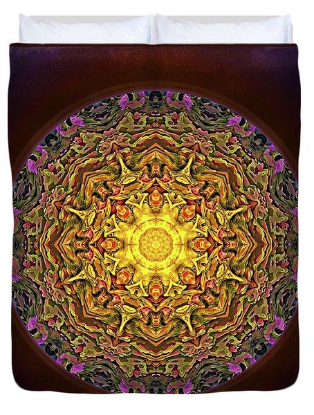 Mandala - Evening Sun Duvet Cover