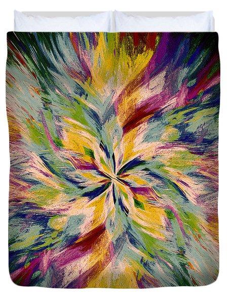 Mandala Twirl 04 Duvet Cover