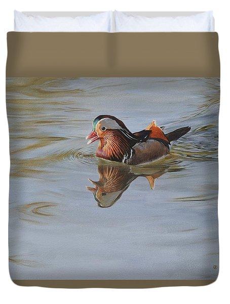 Mandarin Duck Duvet Cover