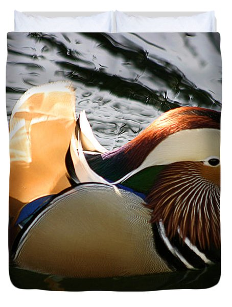 Mandarin Duck Duvet Cover