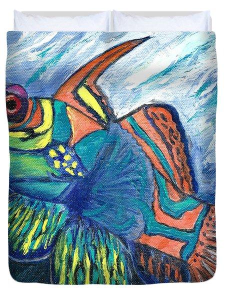 Mandarinfish Duvet Cover