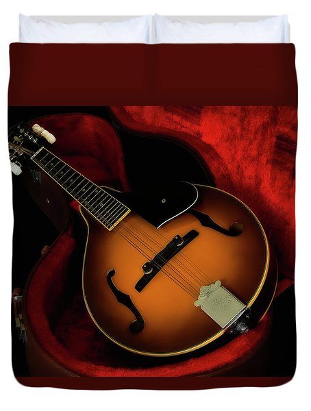 Mandolin Guitar 66661 Duvet Cover