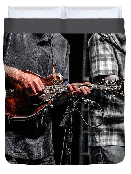 Mandolin Picker Duvet Cover