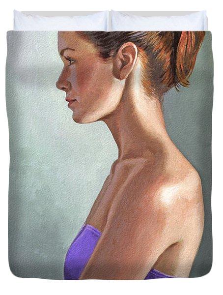 Mandy-profile Duvet Cover