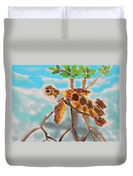 Mangrove Baby Turtle Duvet Cover