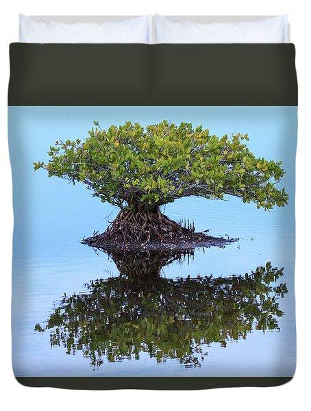 Mangrove Reflection Duvet Cover