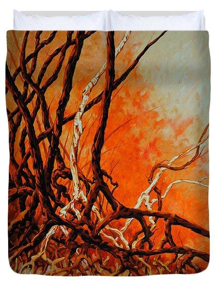 Mangroves Duvet Cover