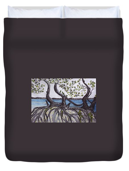 Mangroves Duvet Cover