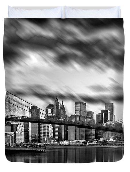 Manhattan Moods Duvet Cover