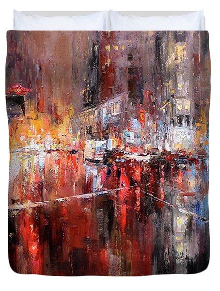 Manhattan Passion Duvet Cover
