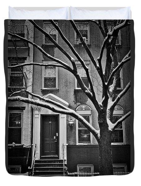 Manhattan Town House Duvet Cover