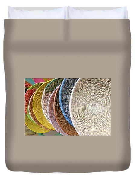 Manhattan Wicker Duvet Cover
