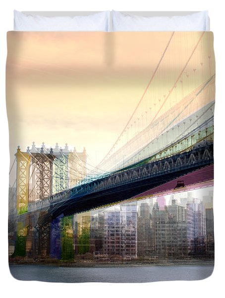 Manhattan X3 Duvet Cover