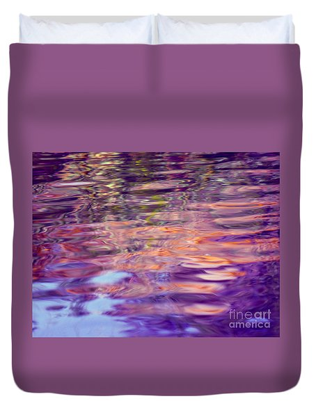 Manifesting Pleasure Duvet Cover