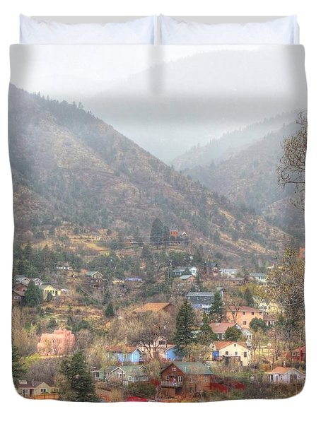 Manitou To The South Iv Duvet Cover