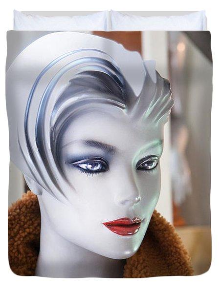 Mannequin 74a Duvet Cover