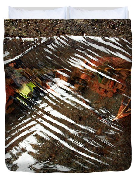Manoa's Fallen Duvet Cover