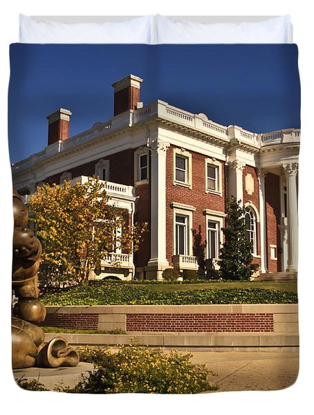 Mansion Hunter Museum Duvet Cover