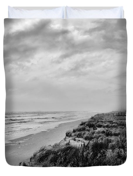 Mantoloking Beach - Jersey Shore Duvet Cover