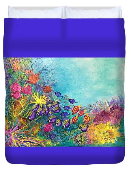 Many Colours Duvet Cover