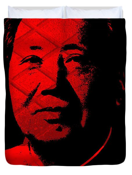 Mao 1 Duvet Cover