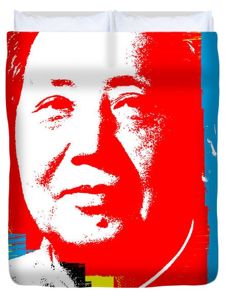 Mao 3 Duvet Cover