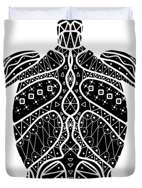Maori Turtle Duvet Cover