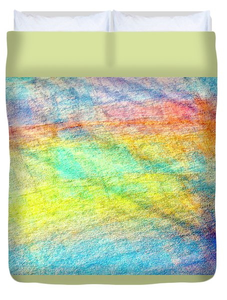 Map Of The Universe Duvet Cover