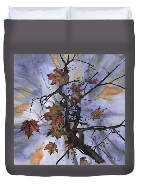 Maple Autumn Splash Duvet Cover