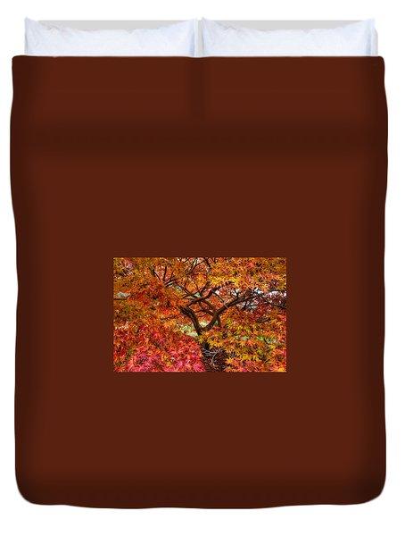 Maple Beauty Duvet Cover