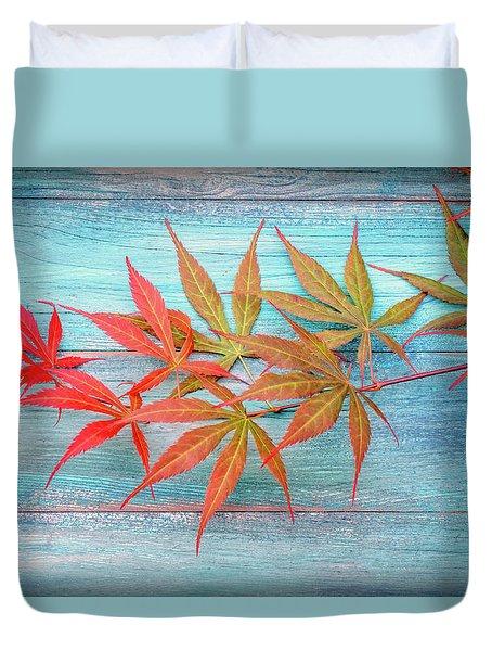 Maple Colors Duvet Cover