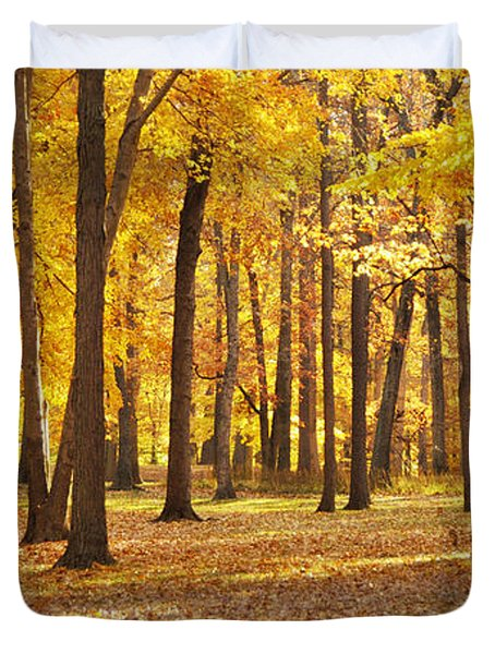 Duvet Cover featuring the photograph Maple Glory by Francesa Miller