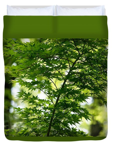 Maple Green Duvet Cover
