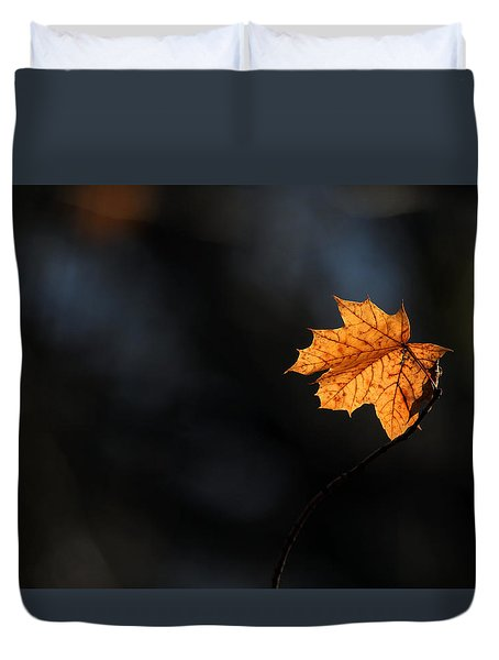 Maple Leaf Setauket New York Duvet Cover