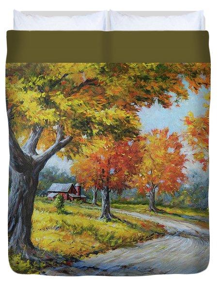 Maple Road Duvet Cover