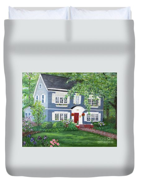 Maplewood Colonial Duvet Cover