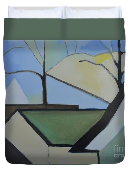 Maplewood Duvet Cover by Ron Erickson