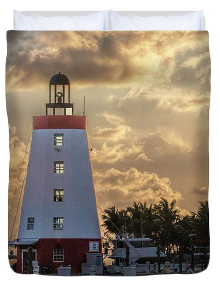 Marathon Light House Duvet Cover