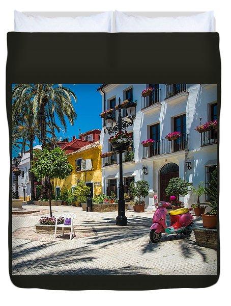 Marbella Plaza Duvet Cover