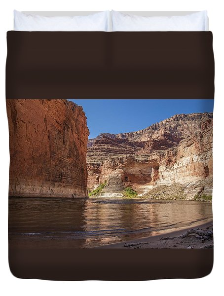 Marble Canyon Grand Canyon National Park Duvet Cover