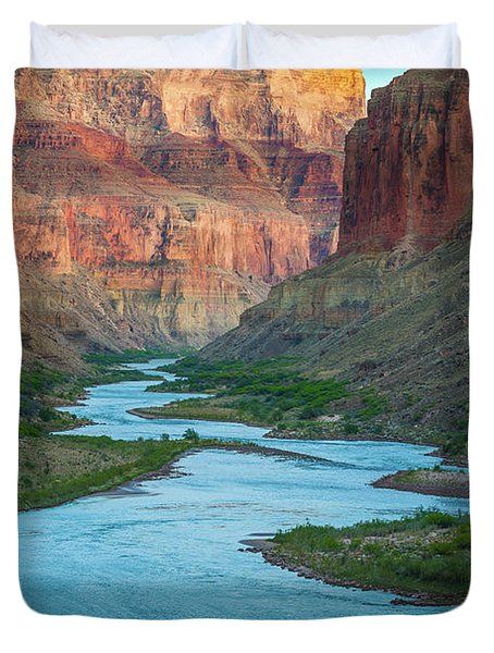 Marble Canyon Rafters Duvet Cover