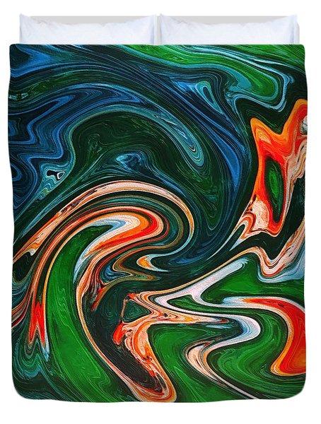 Marble Texture Duvet Cover