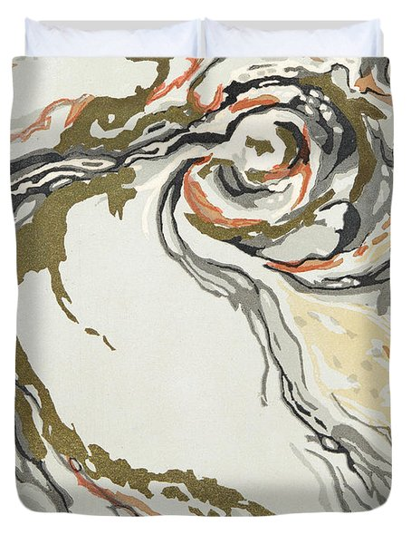 Marbled Pattern Duvet Cover