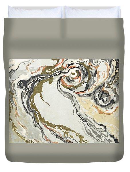 Marbled Pattern Duvet Cover